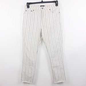Abercombie & Fitch Simone High Rise Ankle Jeans 8R